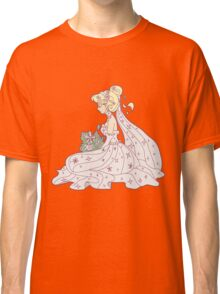 Women Wearing a Wedding Dress Classic T-Shirt