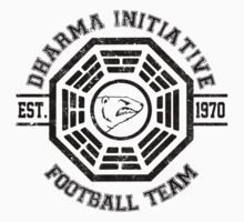 Dharma Initiative Football Team (Black Ver.) by MalvadoPhD