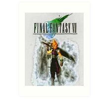 Final Fantasy Art Print