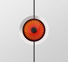 Portal Turret Eye iPad Case by Tyler Coare