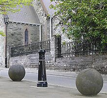 Balls And Bollards by Fara