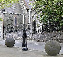 Balls And Bollards by Fara