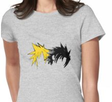 Final Fantasy Hair Womens Fitted T-Shirt