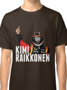 Kimi Raïkkönen - Lotus - Victory Classic T-Shirt
