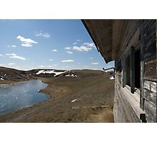 House by the Lake - Weyburn, Saskatchewan, Canada Photographic Print