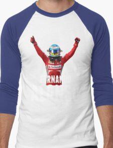 Fernando Alonso - Ferrari - Victory Men's Baseball ¾ T-Shirt