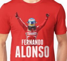 Fernando Alonso - Ferrari - Victory Unisex T-Shirt
