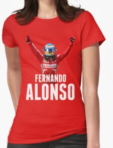 Fernando Alonso - Ferrari - Victory Womens Fitted T-Shirt