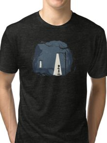 "Wasn't it ""Under the light at 10:00?"" Tri-blend T-Shirt"