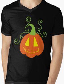 Cute Jack o' Lantern Mens V-Neck T-Shirt