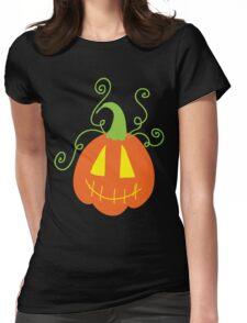 Cute Jack o' Lantern Womens Fitted T-Shirt