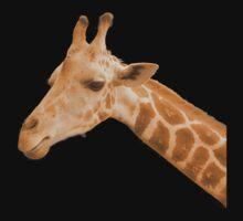 Orange Neon Giraffe by ExistenceIF