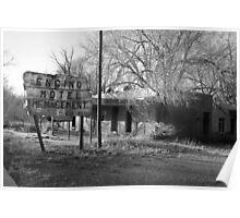 Encino Motel - Encino, New Mexico Poster