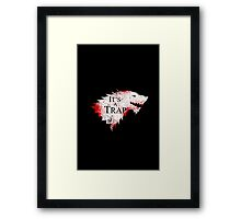 Dire Situation Framed Print
