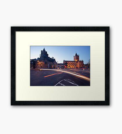 Christ Church, Dublin Framed Print