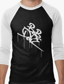 Bob Dope dripping tag logo Men's Baseball ¾ T-Shirt