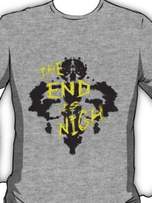 The End is Nigh: Rorschach T-Shirt