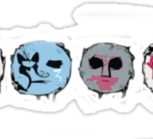 Hollywood Undead Icons Sticker