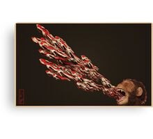 Fish and Chimps Canvas Print