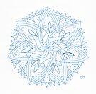 Spring Stars Mandala by Daniel ML