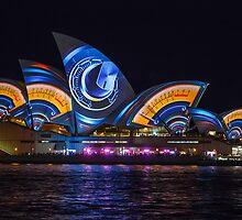 Vivid Sydney 2013 - Lighting The Sails by Andi Surjanto