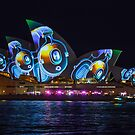 Vivid Sydney 2013 - Lighting The Sails by Andi Surjanto