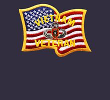 MacVsog Patch Jump wings and Flag Unisex T-Shirt