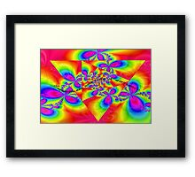 Introvert Angle Framed Print