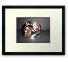 World's Best Spoon and Fork Jewelry Framed Print