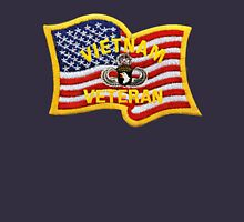 101st Airborne jump wings and flag Unisex T-Shirt
