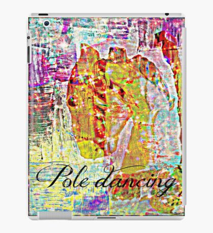 pole dancing iPad Case/Skin