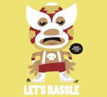 Let's Rassle Kids Tee