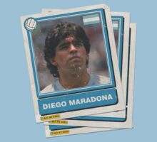 Maradona Stickers by EatMyGoal