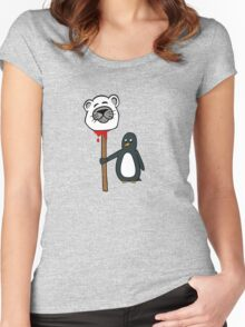 Penguin's Revenge Women's Fitted Scoop T-Shirt
