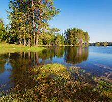 Shiroka Polyana dam, Bulgaria by Ivo Velinov
