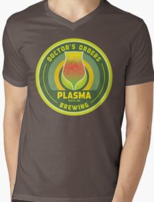 Doctor's Orders Brewing Plasma Mens V-Neck T-Shirt