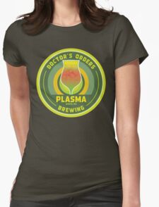 Doctor's Orders Brewing Plasma Womens Fitted T-Shirt