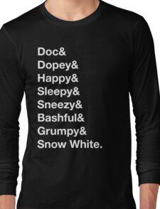 Helvetica Dwarfs Long Sleeve T-Shirt