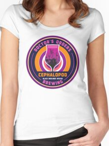 Doctor's Orders Brewing Cephalopod Women's Fitted Scoop T-Shirt