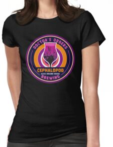 Doctor's Orders Brewing Cephalopod Womens Fitted T-Shirt