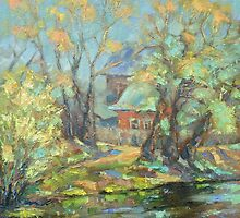 MAY. BOCHAROV POND. 2013 by Ivan KRUTOYAROV