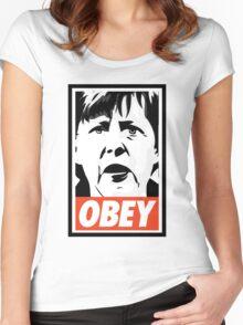 Merkel OBEY Women's Fitted Scoop T-Shirt