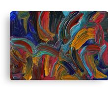 Paint wizard Canvas Print