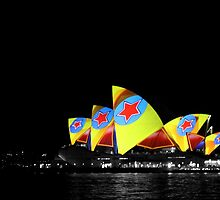 Opera House, Vivid Sydney by LeJour