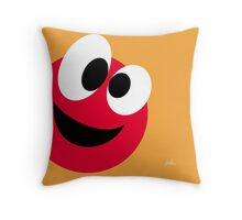 Emotions, Happy. Throw Pillow