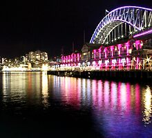 Harbour Bridge, Vivid Sydney by LeJour