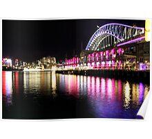 Harbour Bridge, Vivid Sydney Poster