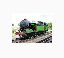Vintage steam train in green  Unisex T-Shirt
