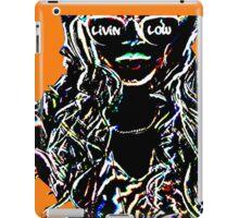 Livin Low Girl With Sunglassess- Orange iPad Case/Skin