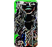 Livin Low Girl With Sunglassess- Lime Green iPhone Case/Skin